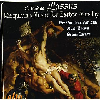 O. Lassus - Lassus: Requiem; Music for Easter Sunday [CD] USA import