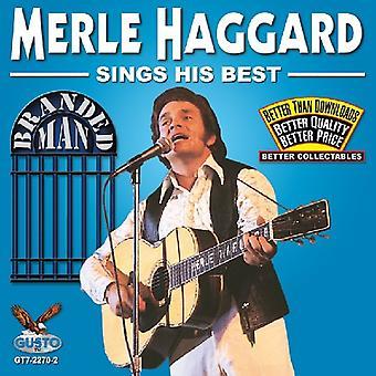 Merle Haggard - synger sin bedste [CD] USA import