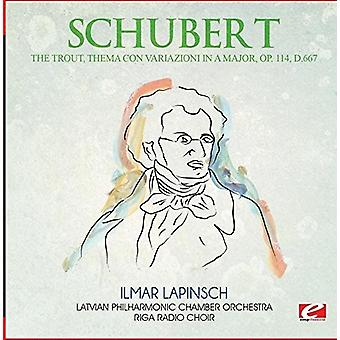 Schubert - ørred Thema Con Variazioni i en større Op. 114 [CD] USA import