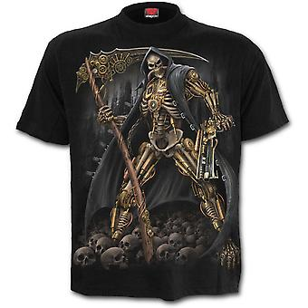Steampunk Skeleton  Men's  Short Sleeve Tshirt