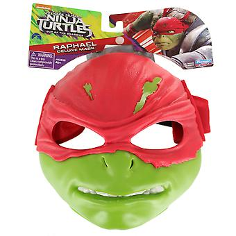 Teenage Mutant Ninja Turtles Deluxe cara máscara roja - Raphael