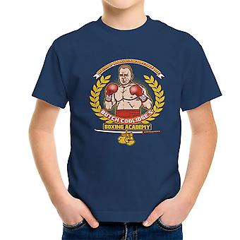 Butch Coolidges boksning Academy Pulp Fiction børne T-Shirt