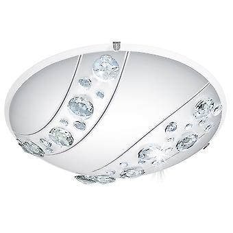 Eglo NERINI Crystal Oval Deckenplatte