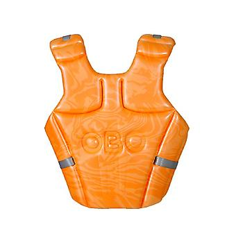 OBO OGO mittlere Hockey Torwart Schaum Brust Guard Orange