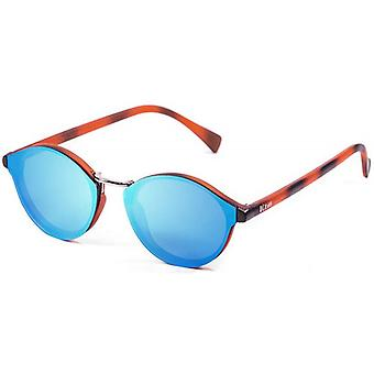 Ocean Loiret Flat Lense Sunglasses - Blue/Brown