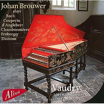 Chambonnieres / Brouwer - Vaudry: 1681 cembalo [CD] USA importerer