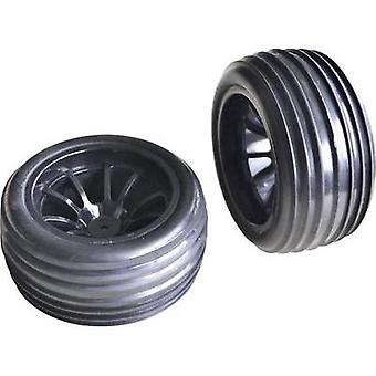 Spare part Reely 10648+10650 Front and rear wheels