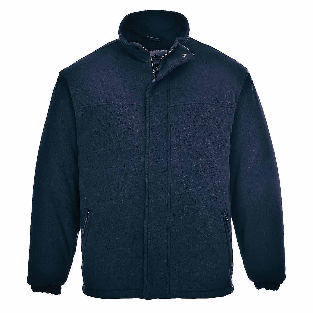Portwest - Yukon Quilted Workwear Warm Ant Pill Fleece Jacket