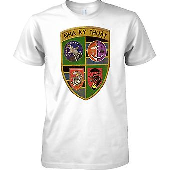 ARVN Special Forces MACV - Nha Ky Thuat - Vietnam oorlog - Kids T Shirt