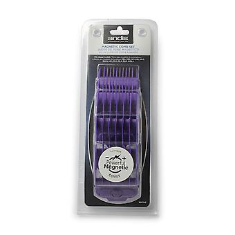 Andis Magnetic Comb Set 5 pack 1.5mm - 13mm #66345