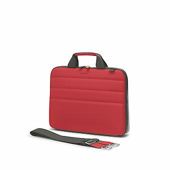 "Fedon 1919 Ninja Collection NJ File Doc Bag Rot Premium Aktentasche 13"" Laptop Notebook MacBook Tasche Red"