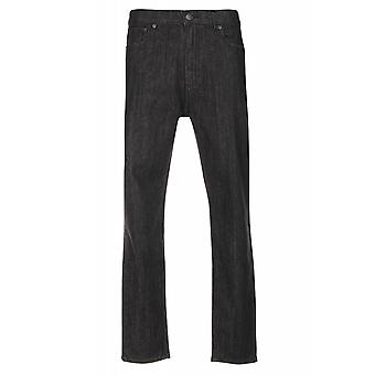 JUNK YARD Justin tapered trousers mens jeans 5-Pocket black