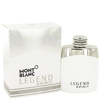 Mont Blanc legende ånd Eau de Toilette 100ml EDT Spray