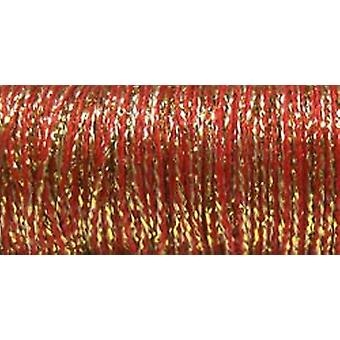 Kreinik sehr feine Metallic Braid #4 11 Meter 12 Yards Golden Piment Vf 5805