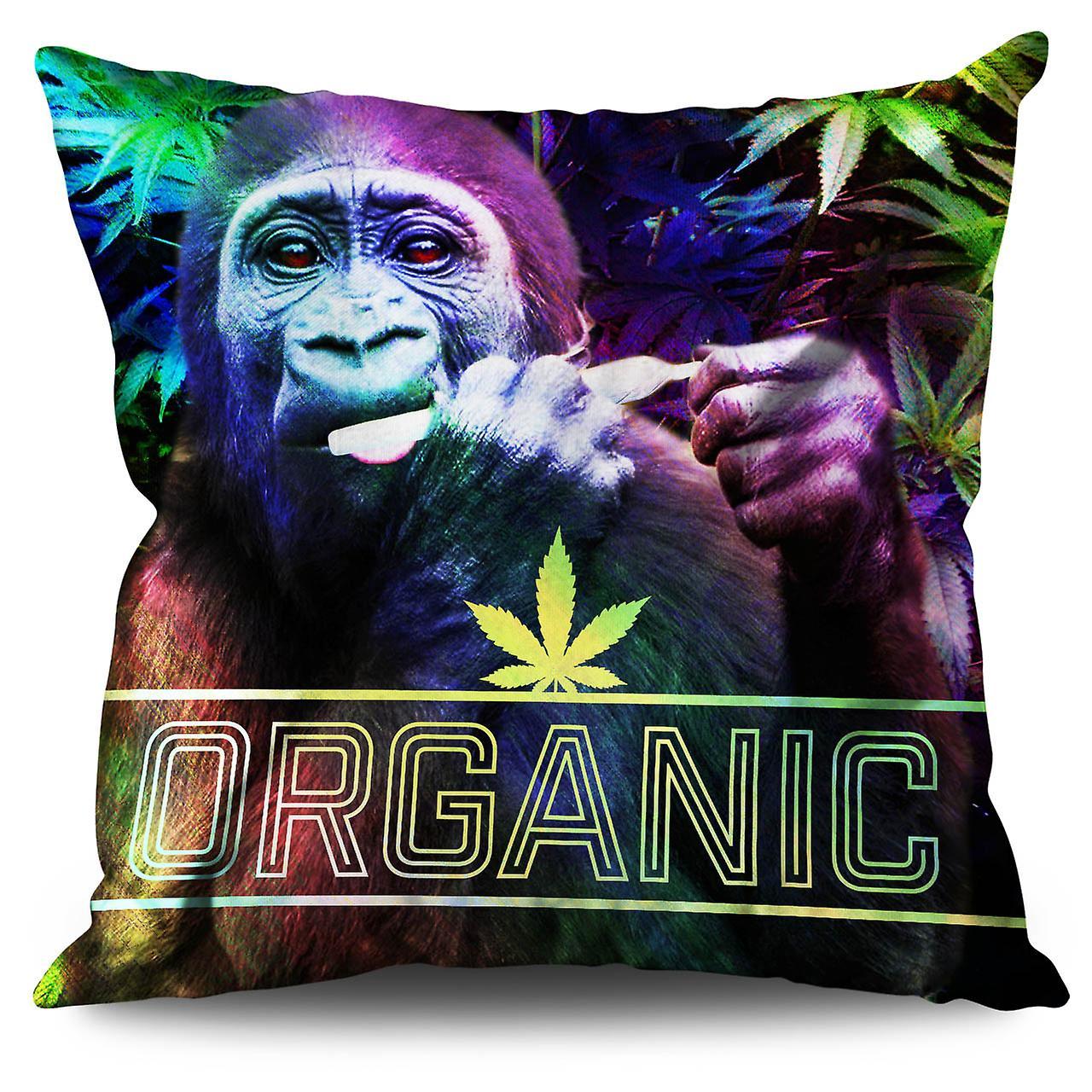 CmWellcoda Cannabis Lin Organiques Coussin De 30 Rasta X f7yY6gbv