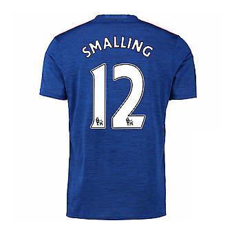 2016-17 Manchester United Away Shirt (Smalling 12) - Kids