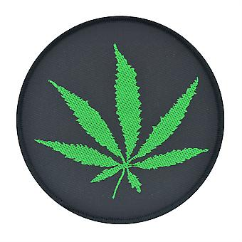 Leaf Woven Patch