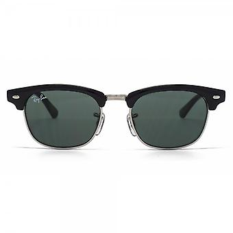 Ray-Ban Junior Clubmaster Sunglasses In Black Green