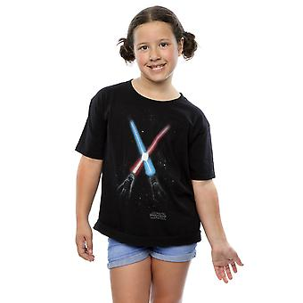 Star Wars Girls Crossed Lightsabres T-Shirt