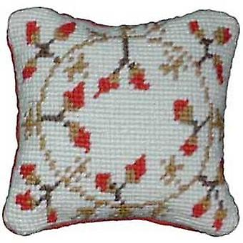 Garland of Berries Needlepoint Kit