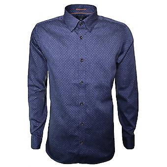 Ted Baker Ted Baker Men's Blue Jakee Long Sleeve Shirt
