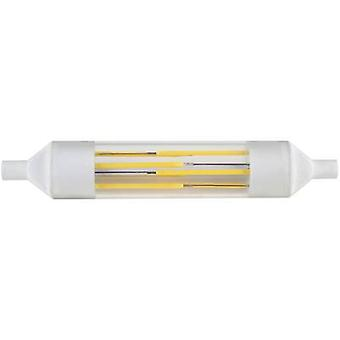 LED R7s Tubular 6 W = 50 W Cool white (Ø x L) 20 mm x 118 mm EEC: A+ DioDor Filament 1 pc(s)