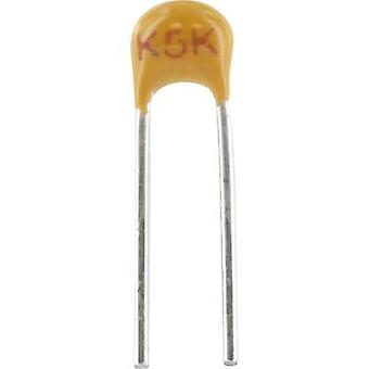 Ceramic capacitor Radial lead 1 nF 100 V 10 %