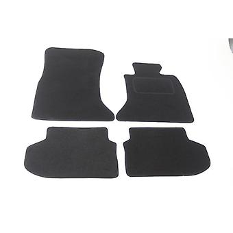 Fully Tailored Car Floor Mats - BMW 5 Series F11 Touring 2013-2018 Black