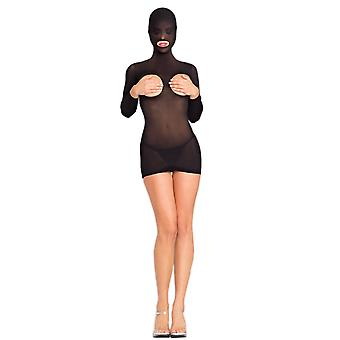 Be Wicked BWB102 Hooded Cupless Minidress