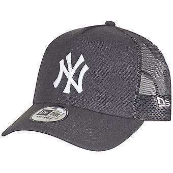 Nowa era Trucker Cap - wrzos New York Yankees grafit