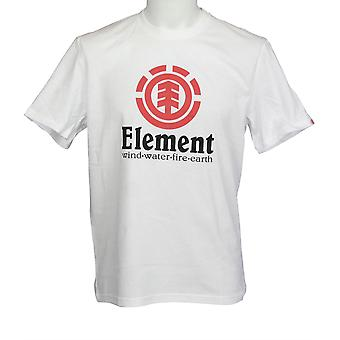 Element Men's T-Shirt ~ Vertical optic white