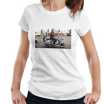 Sting On A Moped In Quadrophenia Women's T-Shirt