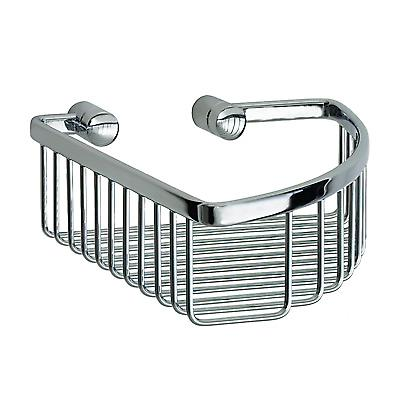 Loft Corner Basket - Polished Chrome(LK374)