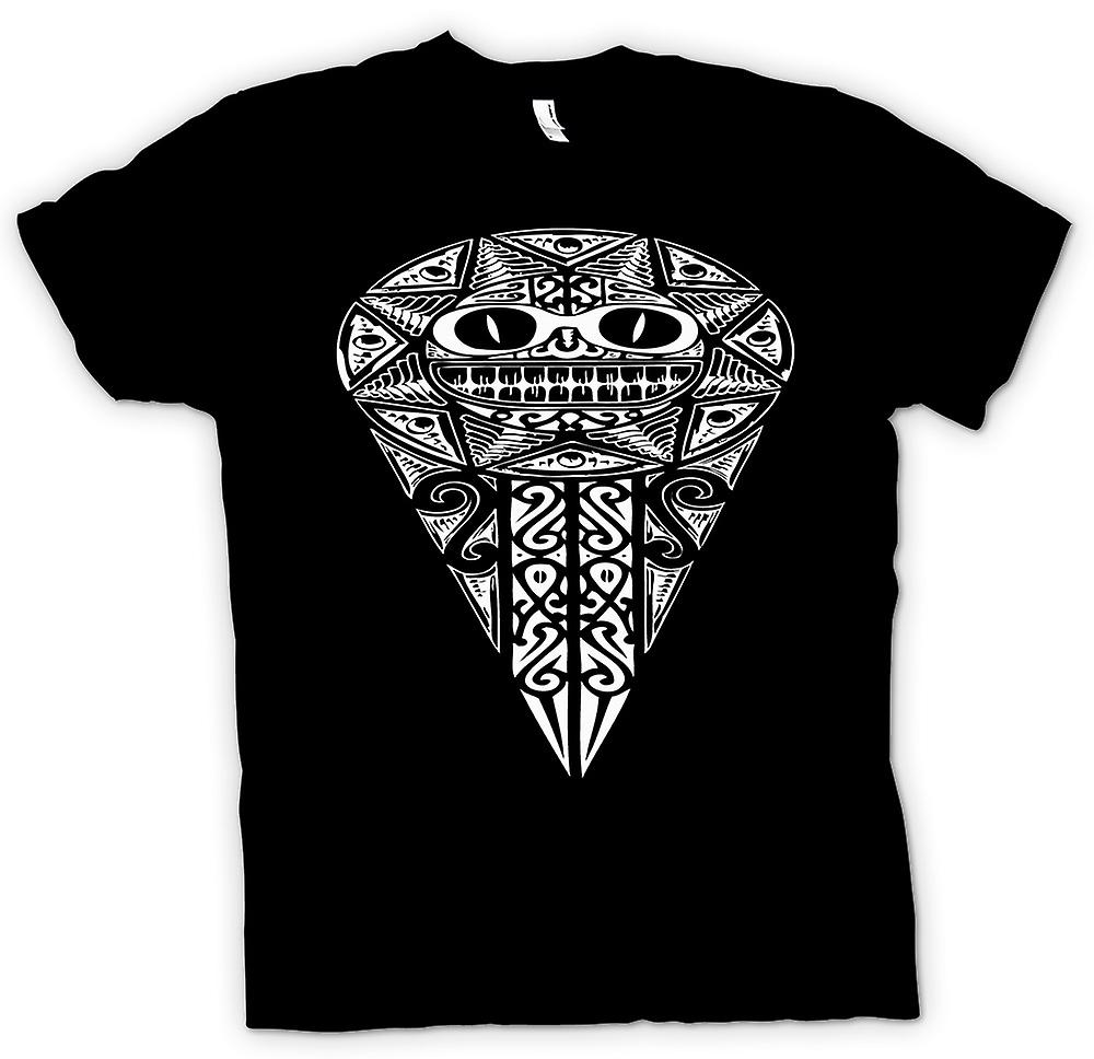 Womens T-shirt - Aztec Tribal War Design