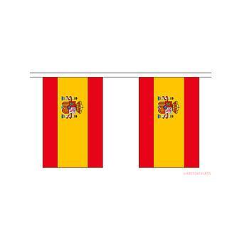 Spanien Fahne Bunting rechteckigen Flaggen