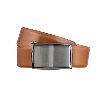 LLOYD Men's belt belts men's belts leather belt Cognac 3155