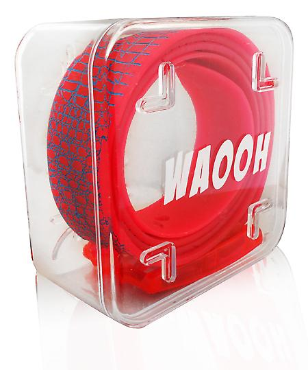 Waooh - Belt Plastic Waooh Red / Blue