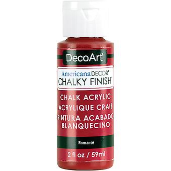Americana Chalky Finish Paint 2oz-Romance