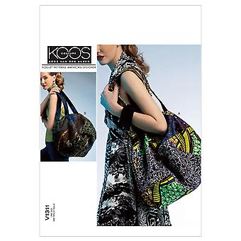 Bags-One Size Only -*SEWING PATTERN*