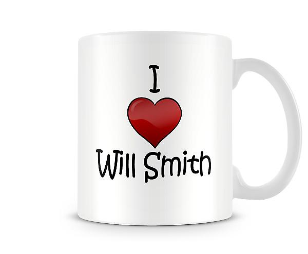 I Love Will Smith Printed Mug