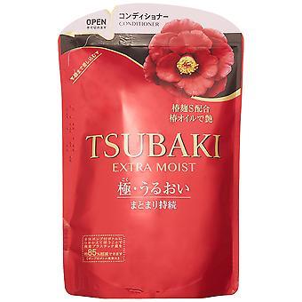 Tsubaki Extra Moist Shampoo Refill Pack 345ml
