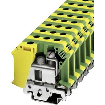 PE protective conductor terminal UISLKG 35 Phoenix Contact Green-yellow