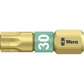 Torx bit T 30 Wera 867/1 BDC TX30X25 Tool steel al