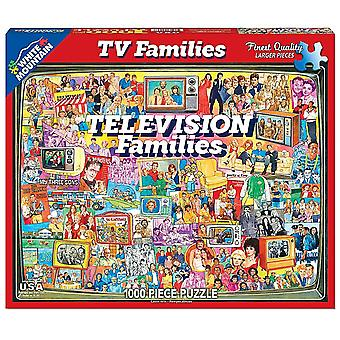 Television Families 1000 Piece Jigsaw Puzzle 760Mm X 610Mm