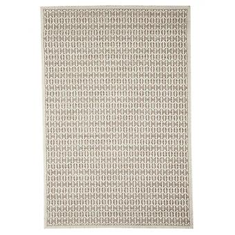 In - and outdoor carpet balcony / living room Skandi look natural beige 130 x 190 cm