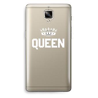 OnePlus 3 Transparent Case (Soft) - Queen black