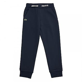 Lacoste Juniors Slim Fit Joggers (Navy)