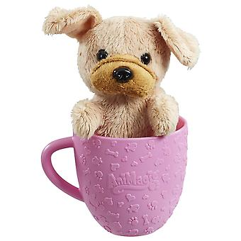 Animagic Tea Cup Pets - Brown Pug Puppy