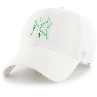 47 fire relaxed fit Cap - CLEAN UP New York Yankees white