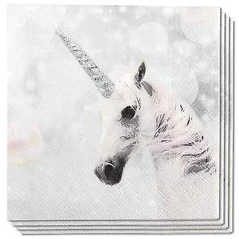 Ambiente 3 Ply Paper Napkins, Unicorn